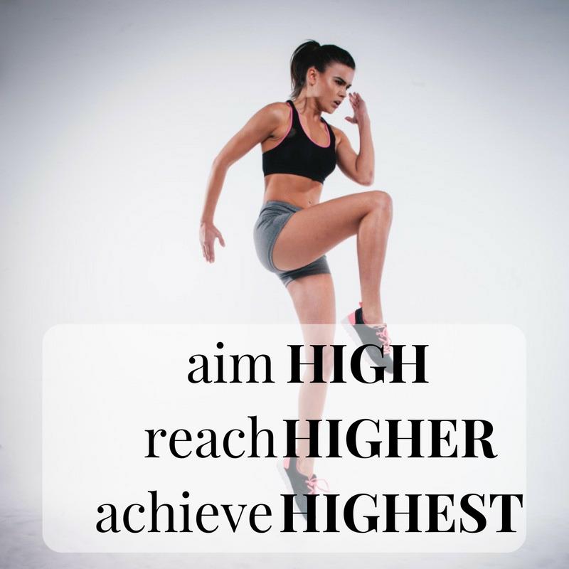 Aim high, reach higher, achieve highest. http://newestweightloss.com #weightloss #diet #weightlossmotivation #fitspo