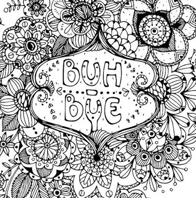 Have A Nice Life Ahole Is The Adult Coloring Breakup Book You