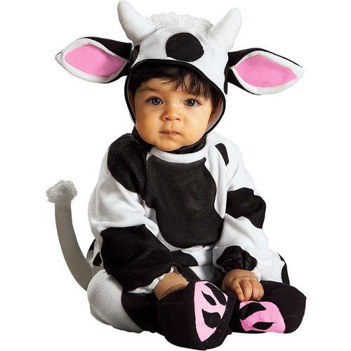 Cow Infant Halloween Costume - Walmart.com  sc 1 st  Pinterest & Cow Infant Halloween Costume | Baby halloween costumes Baby ...
