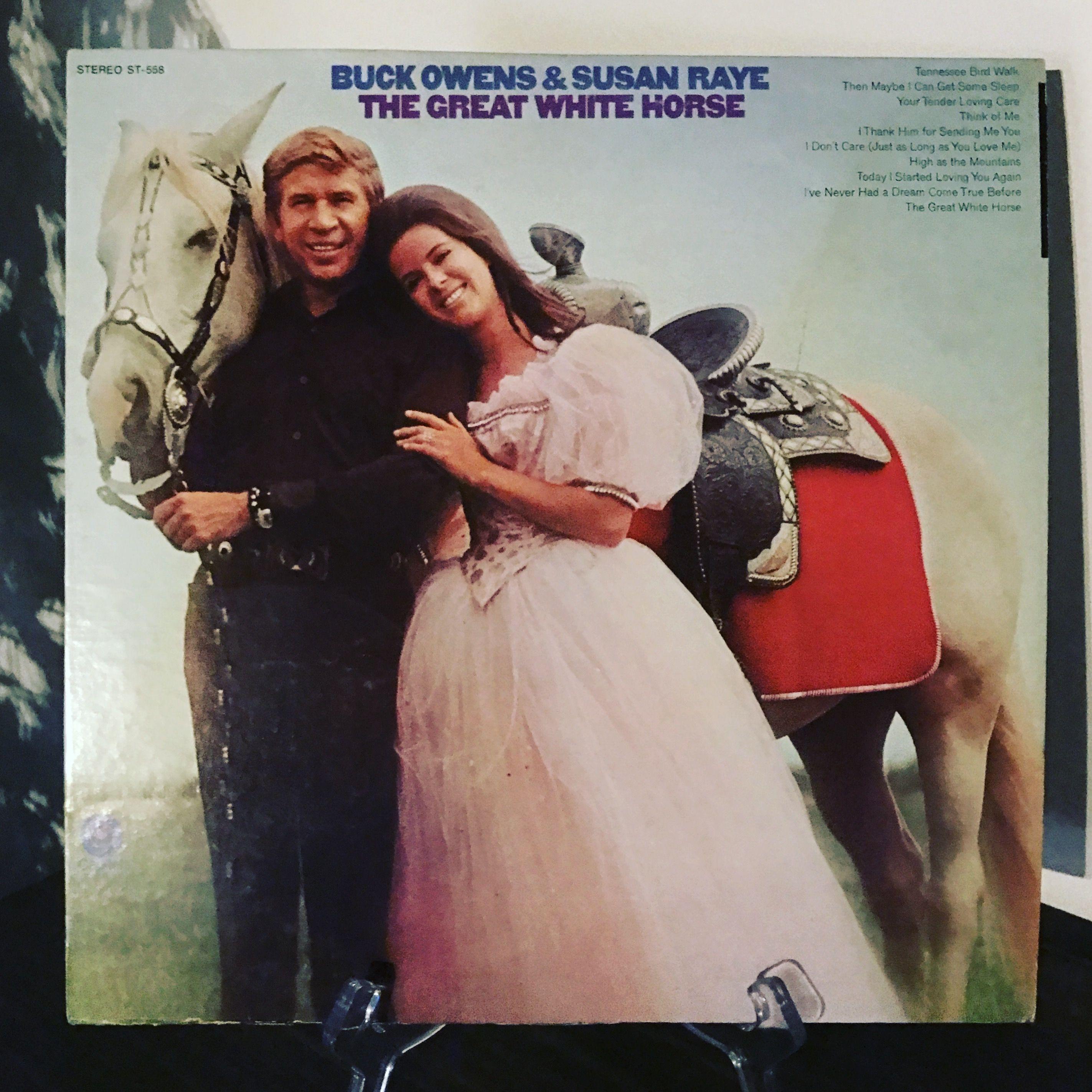 Now Spinning!!! #buckowens #vinyl #thegreatwhitehorse #susanraye www.johnpauldehaas.com
