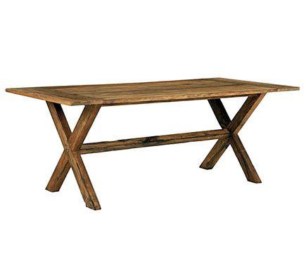 Mesa de madera de teca tanzania leroy merlin muebles - Mesas de terraza leroy merlin ...
