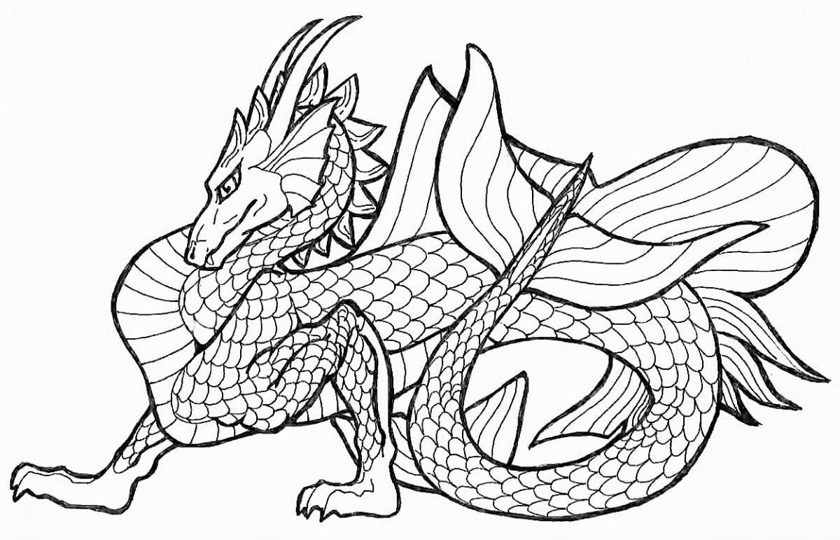 Coloringsco Coloring Pages Dragons