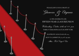 Red Carpet Party Invitations Red Carpet And Daddy Daughter Dance