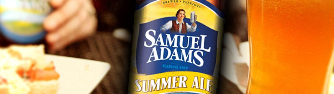 Sam Adams Summer Ale at Maggie Spillanes Crisp and tangy with refreshing lemon peel and a hint of pepper from rare Grains of Paradise. Golden, hazy,