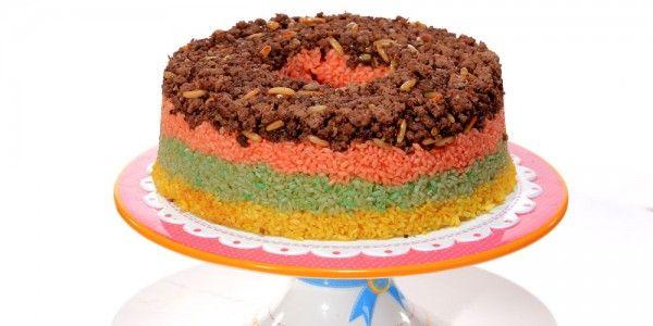 Cbc Sofra طريقة عمل الأرز الملون غادة التلي Recipe Food Desserts Cake