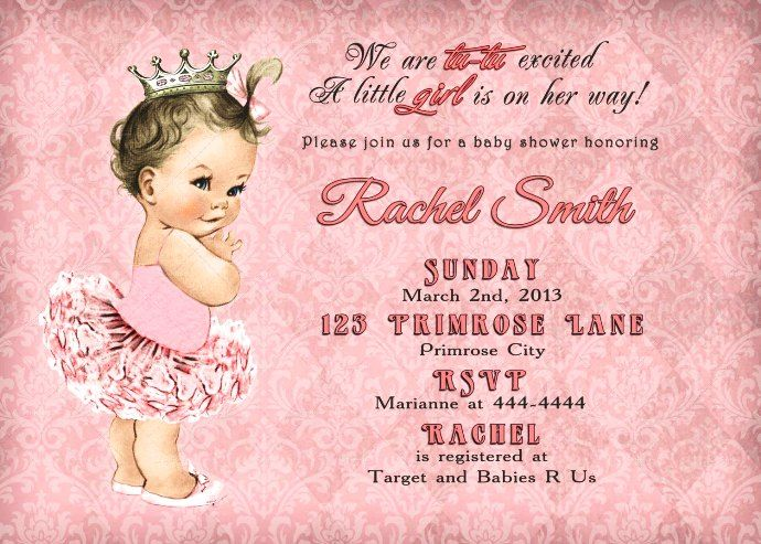 Baby Shower Invites Projects To Try Pinterest Free Baby Shower