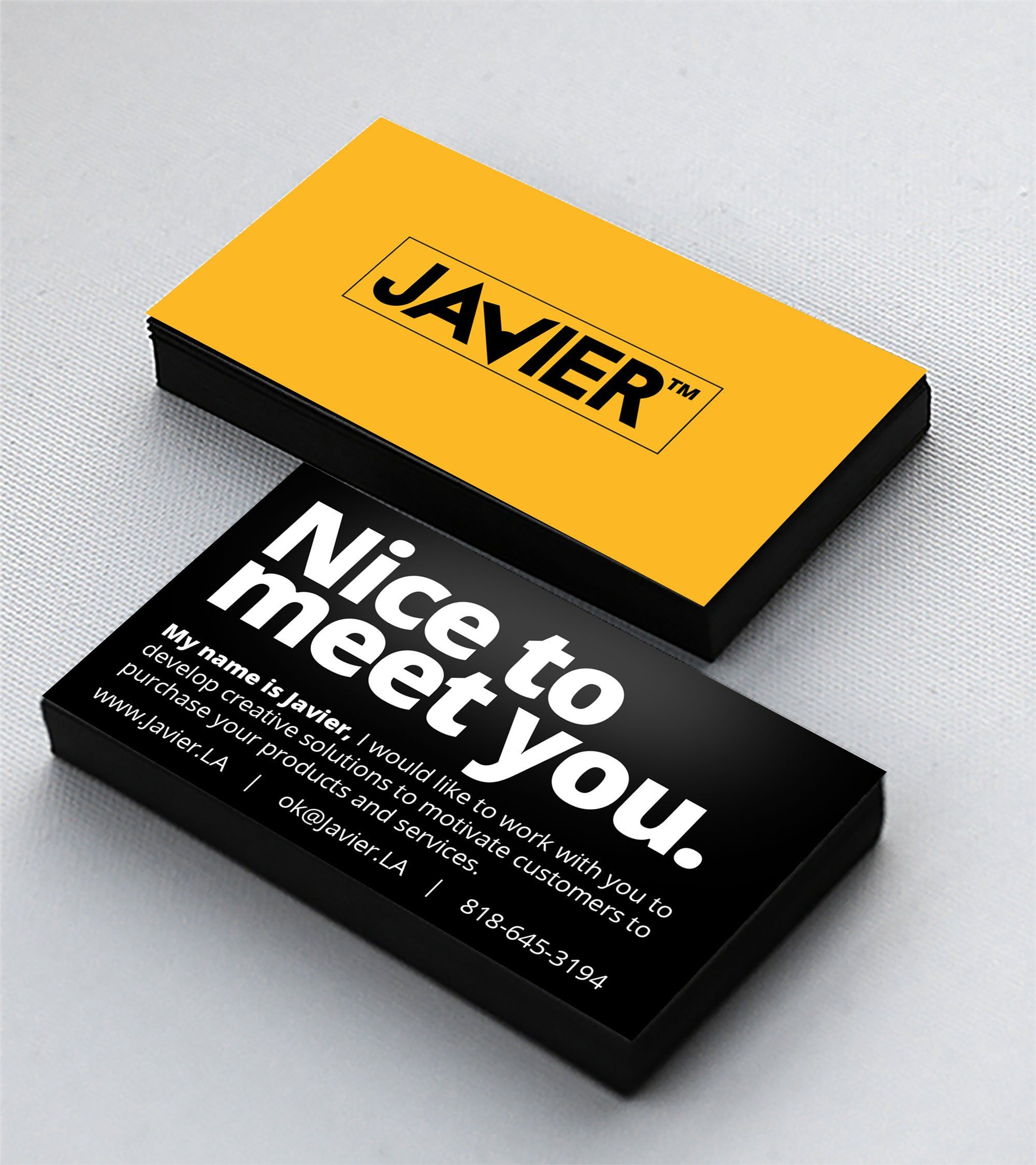 JAVIER™ Design & Marketing Services | Creative / Innovative Business ...