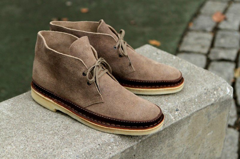 Clarks Releases the Desert Trooper and Desert Guard Traupe for Fall/Winter  2012