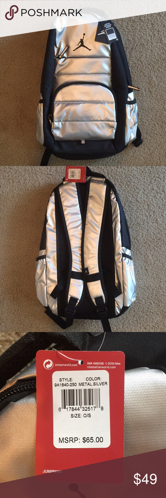 b4b2eb90823b23 NEW Jordan Brand Backpack Brand new Jordan Brand Backpack! The tags are still  attached and