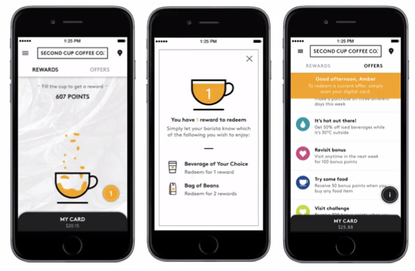 Second Cup launches new Rewards program, available on