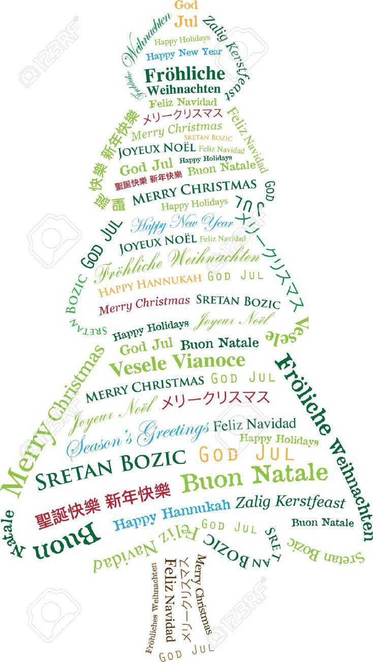 image regarding Merry Christmas in Different Languages Printable named Merry Xmas Several Languages Tis the Time towards be