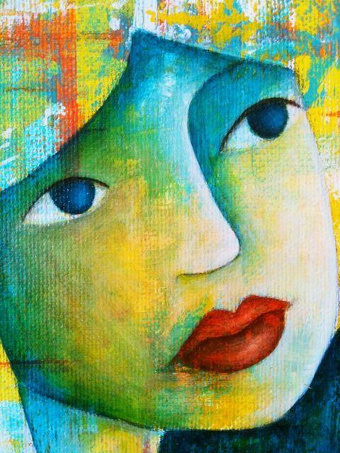 beauty, mixed media artist