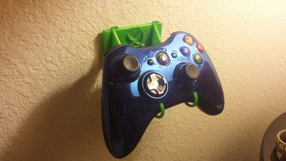 3D Printed xBox Controller Holder by RedHairPrints on Etsy