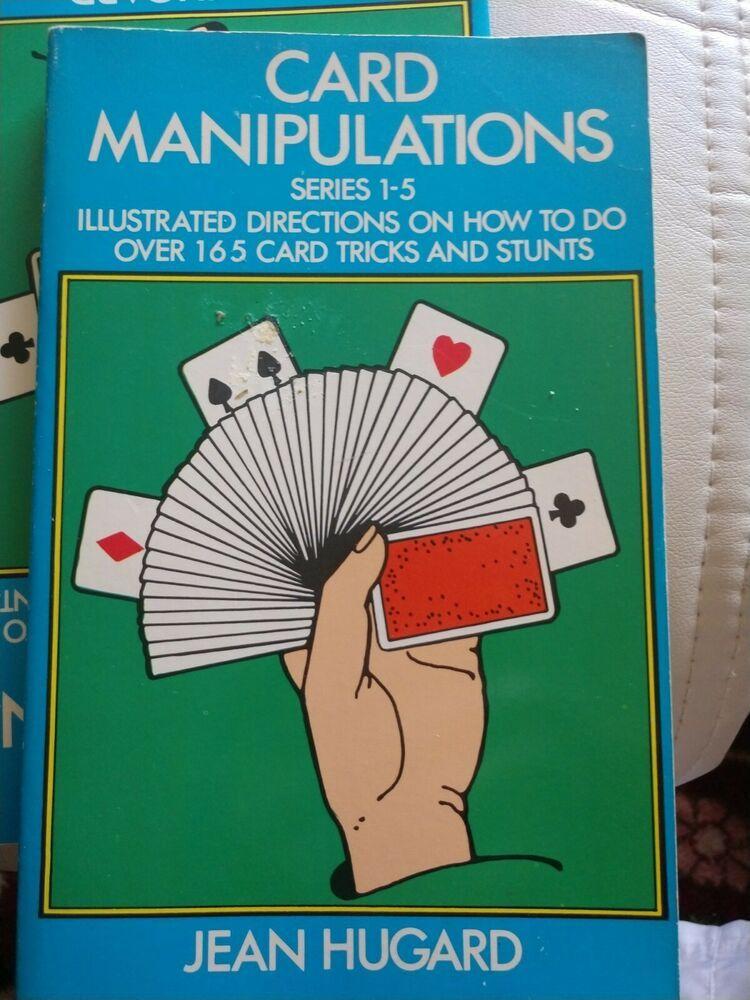 Card Manipulations Dover Magic Books Jean Hugard Magic Book Magic Card Tricks Card Tricks