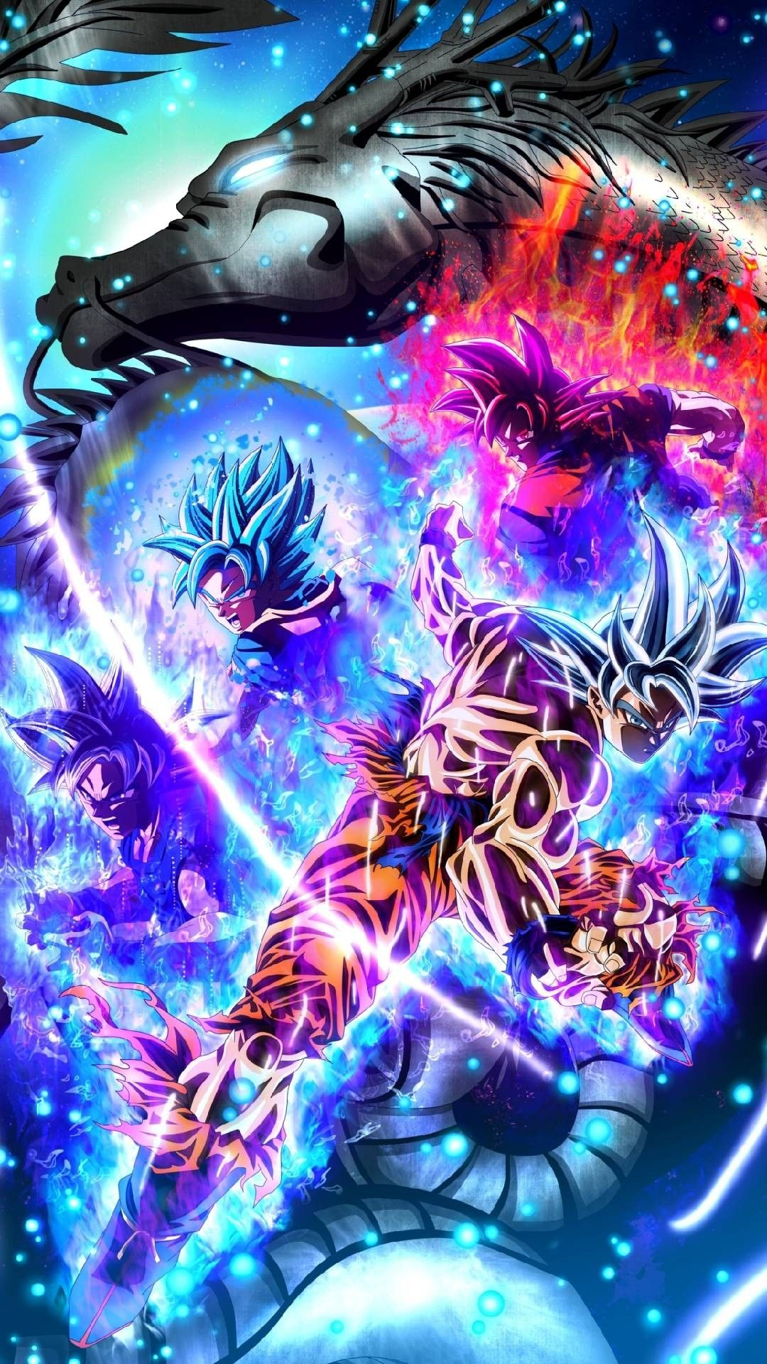 Pin de Shirley en Goku Dbz fondos de pantalla, Dragon