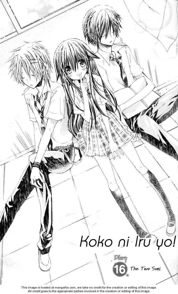 Resultado de imagen de Koko ni Iru Yo manga