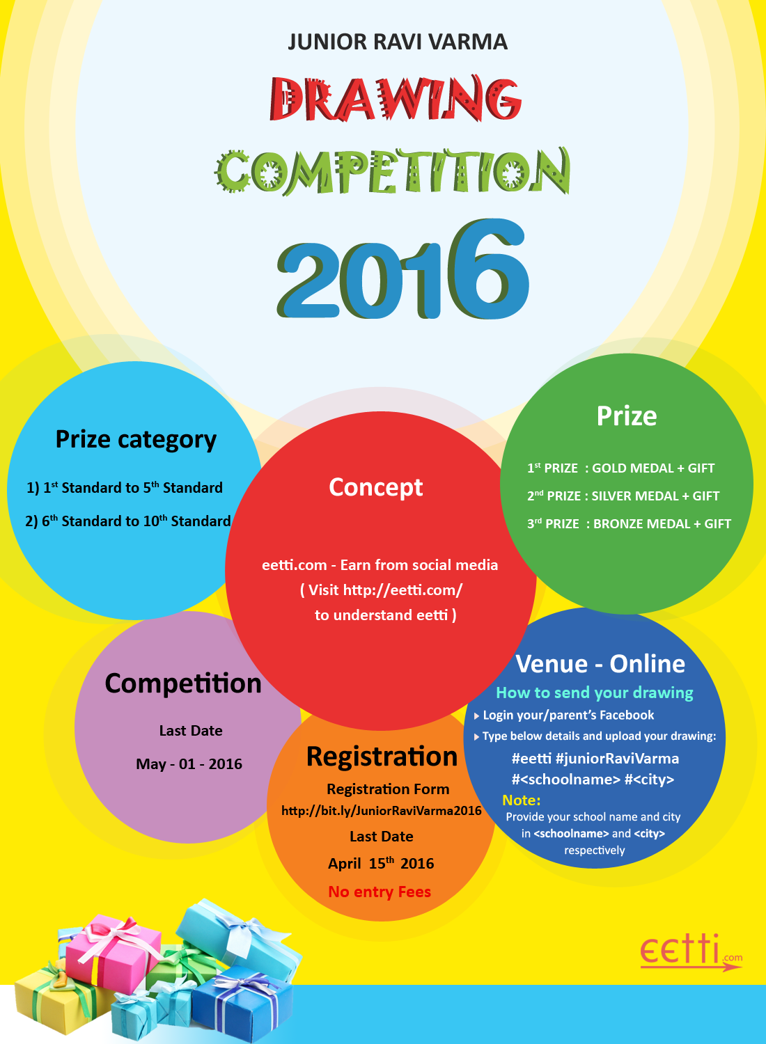 Eetti Drawiing Competition Invitation For More Details Visit