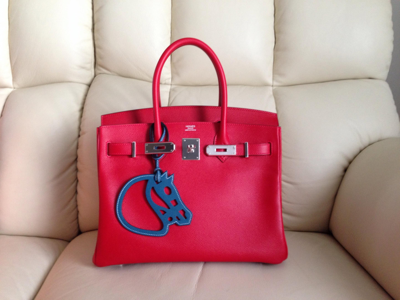7420faa3c09 Hermes Birkin 30 Rouge Casaque Epsom