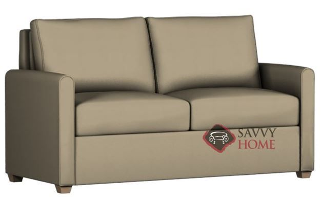 Somerset Paragon Full Leather Sofa Bed by Lazar Industries ...