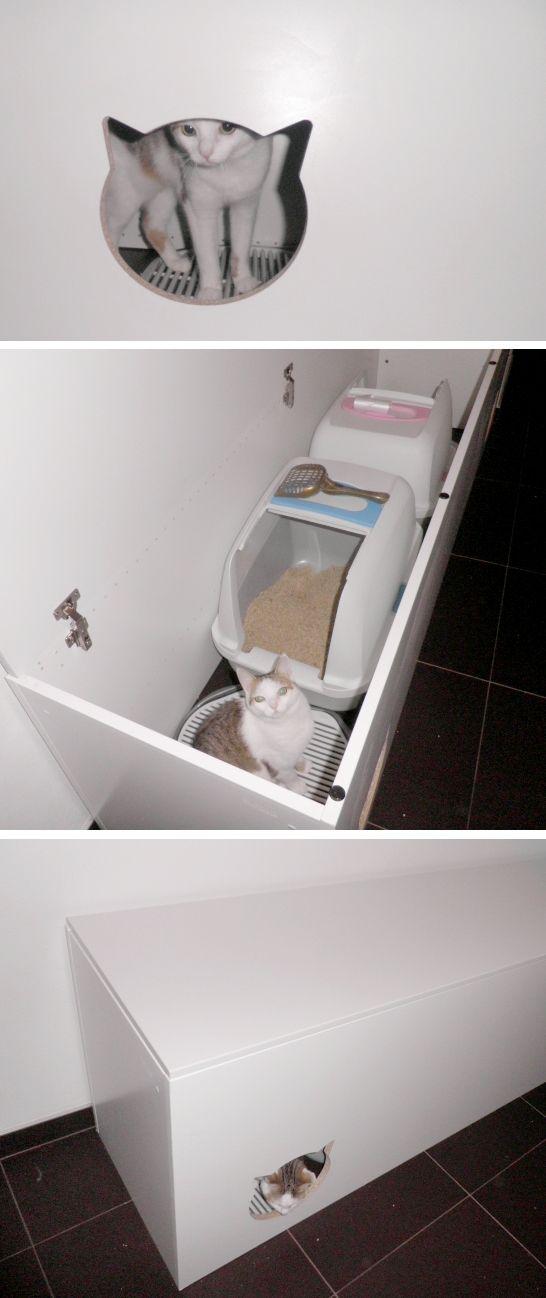 DIY Cat Litterbox