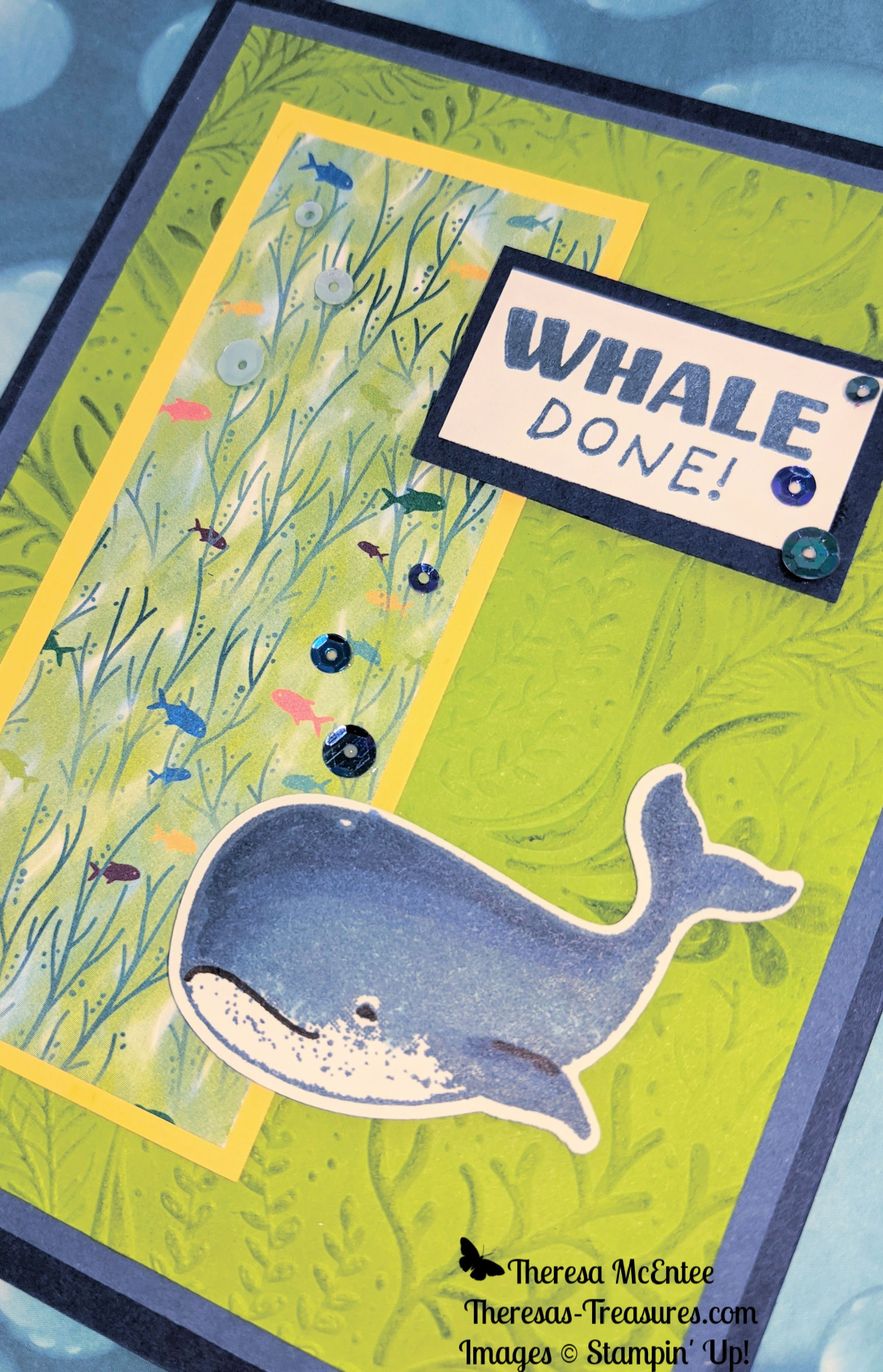 Gone fishing with whale done congratulations