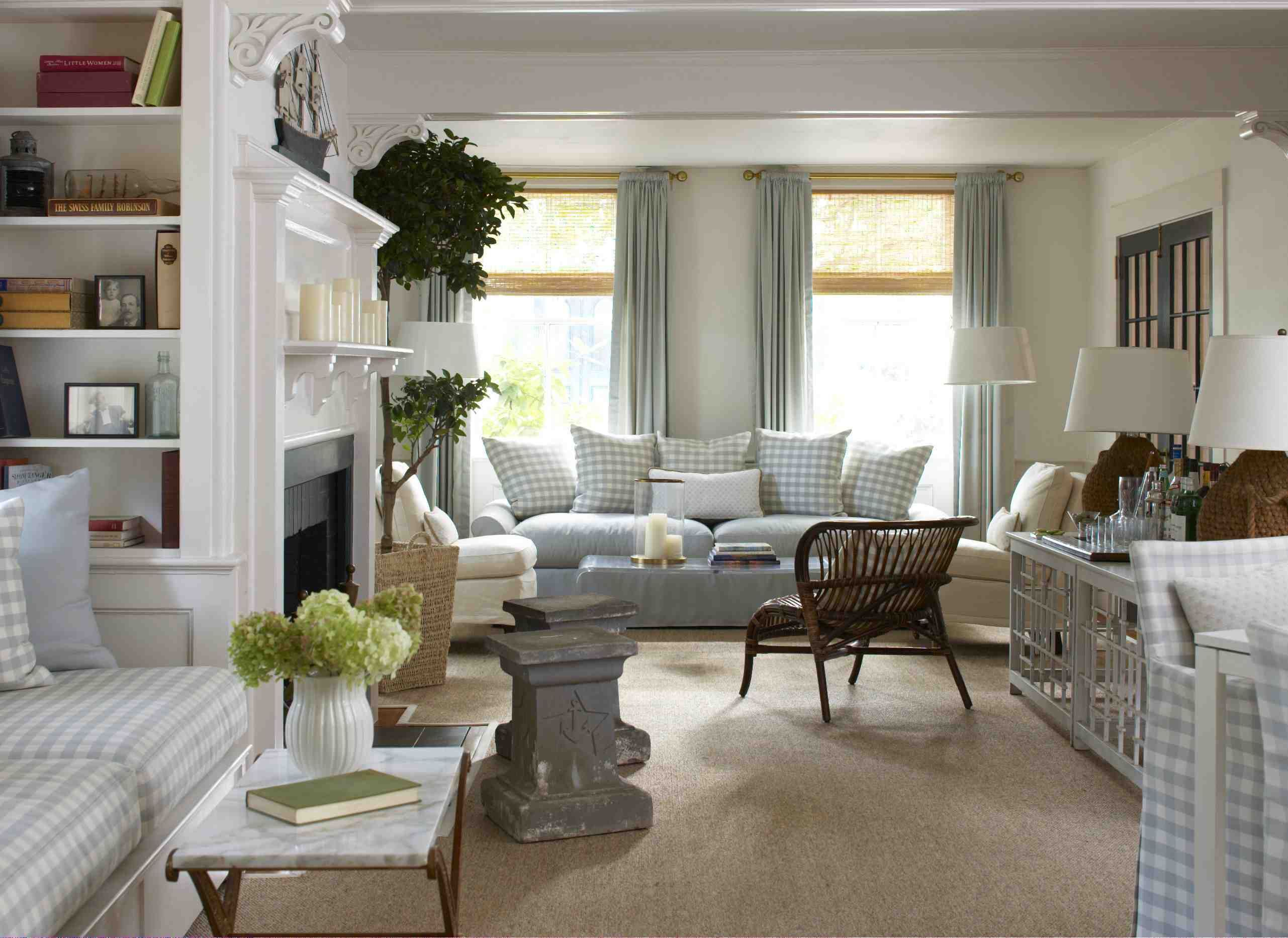 surprising new england style living room | Pin by Kay Slawnikowski on Interior Design Town & Country ...