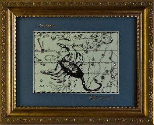 """Светящаяся в темноте картина """"Скорпион"""" - Знаки зодиака светящиеся <- Картины, плакетки, рельефы - Каталог   Универсальный интернет-магазин подарков и сувениров"""