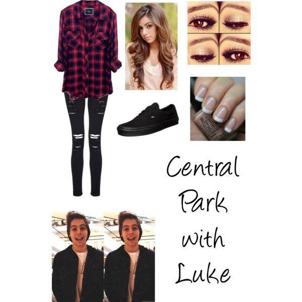 Central Park with Luke Hemmings