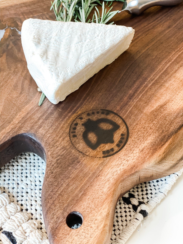 Extra Large Charcuterie Board | Live Edge Black Walnut | Epoxy Filled Charcuterie | Grazing Board | Solid Wood Serving Board | Plan B Decor