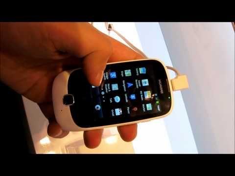 Huawei Ascend Y100 @ MWC2012
