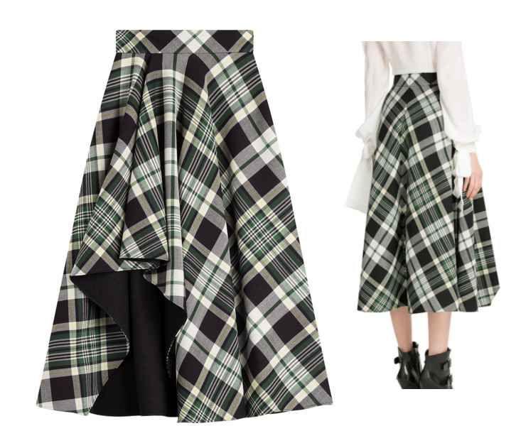 Мои закладки | моделирование | Модные стили, Одежда и ... Тартан Платье
