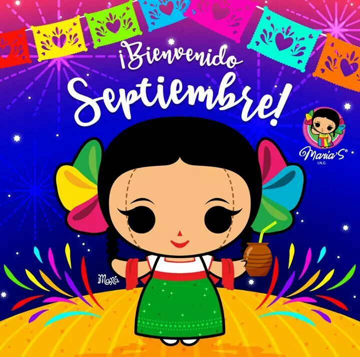 Bienvenido Septiembre Munequitas Mexicanas Con Nombres Arte Popular Mexicano Munecas Mexicanas