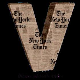 Monica Michielin Alphabets Alfabeto Do New York Times Png New York Times Newspaper Alphabet Newyorktimes Newyorkti New York Times Times Newspaper Alphabet