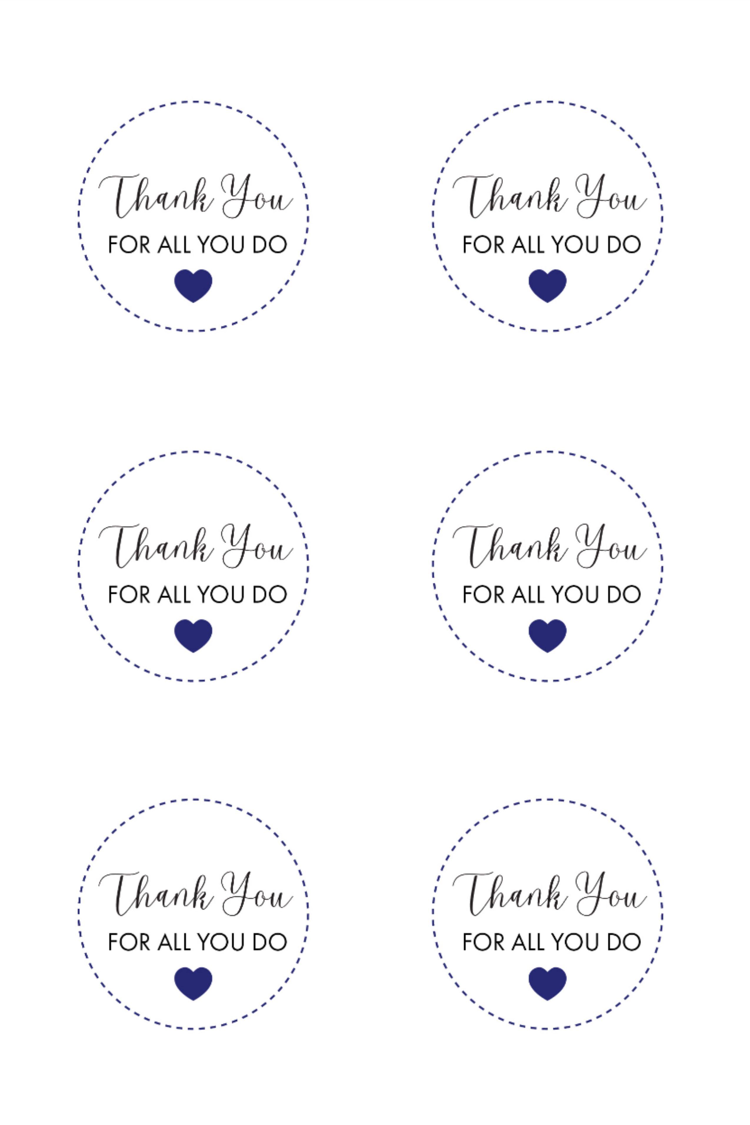 Thank You For All You Do Free Printable Gift Tags Free Printable Gift Tags Free Printable Gifts Gift Tags Printable