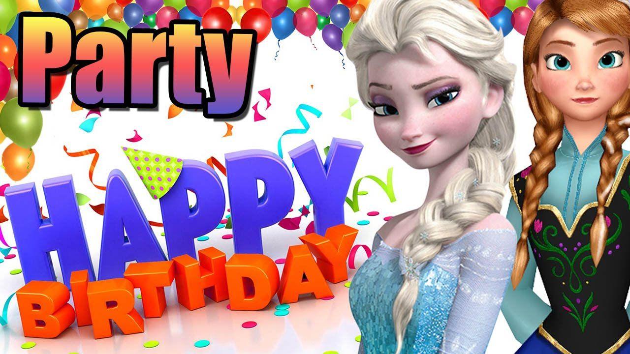 Disney junior Happy Birthday party Surprise Bday Party Rapunzel