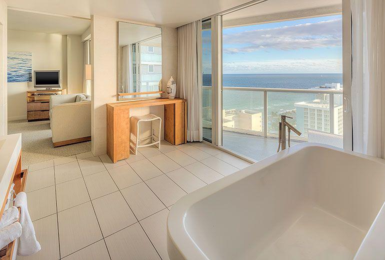 Mega Ocean View Bathroom W Fort Lauderdale Fort Lauderdale Hotels Fort Lauderdale