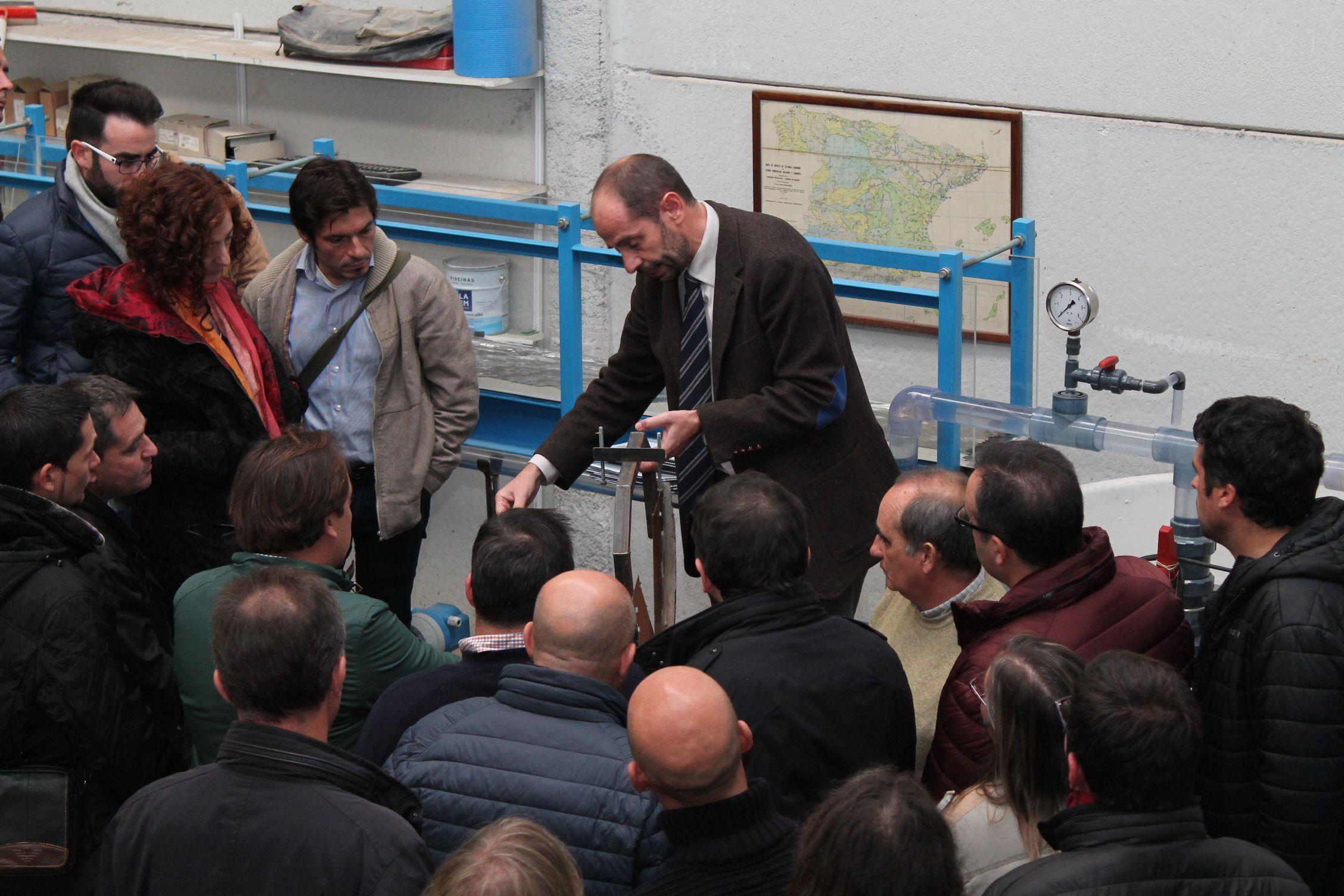 Visita a las instalaciones de la empresa Desarrollo de Tecnologías de Depuración S.L.