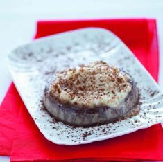 Crema cotta di mandorle al cacao -