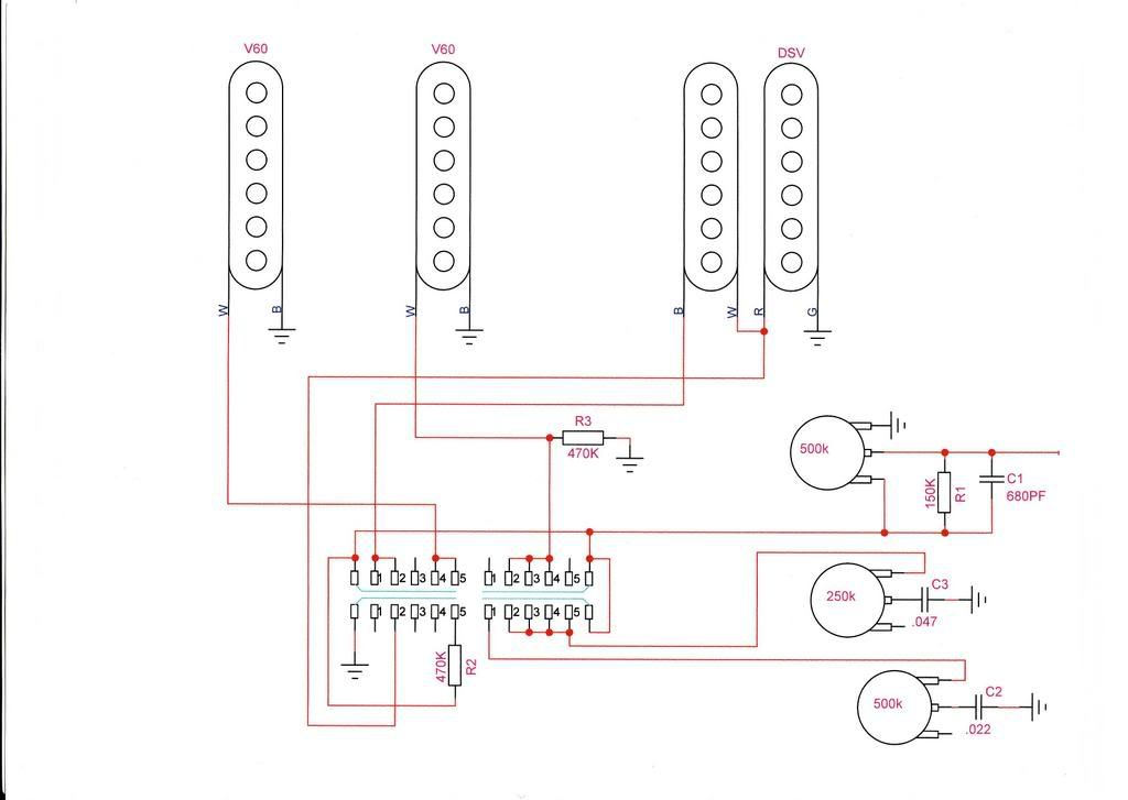 Suhr Hss Wiring Suhr Custom Guitars Diagram