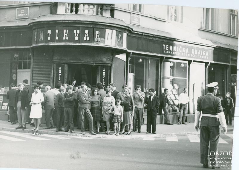 Naziv Kupoprodaja Knjiga Antikvarijat Lokacija Donji Grad Centar Godina N A Tekst Zagreb Croatia Street View