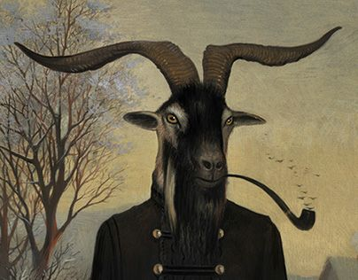 More Gouache Paintings, More Strange Dreams.