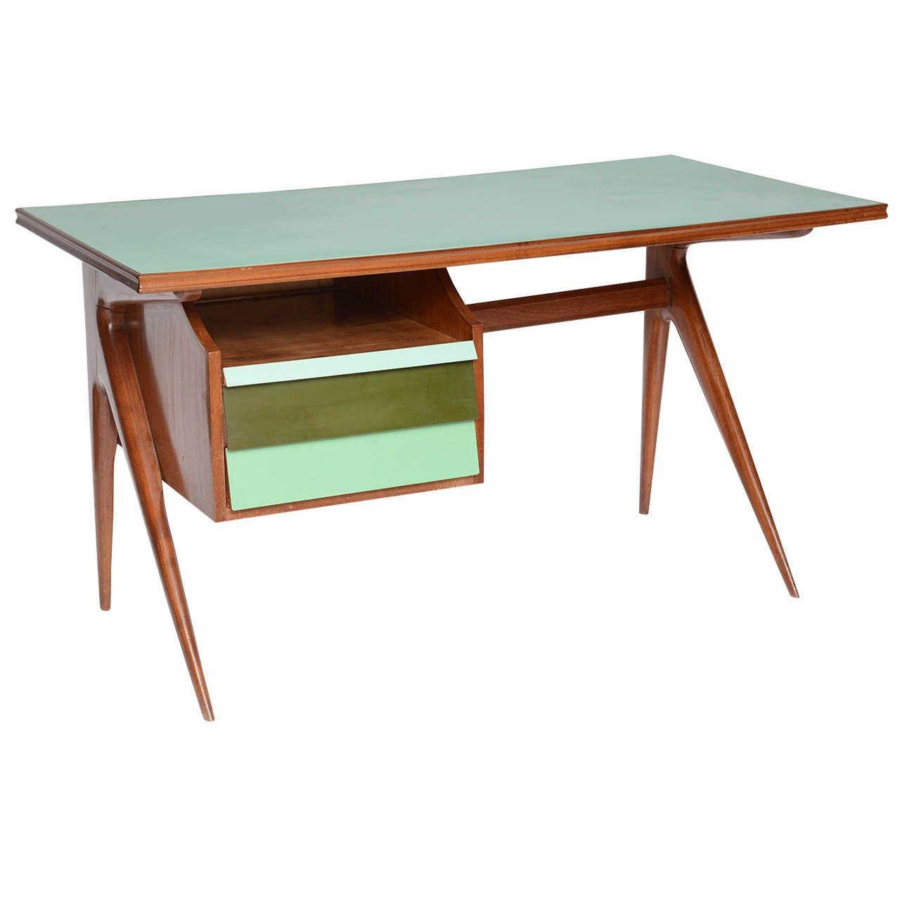 Italian Mid Century Laminate Writing Desk 1stdibs Com Mid Century Furniture Diy Mcm Furniture Wood Furniture Store