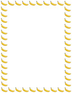 banana border baku dapa anak