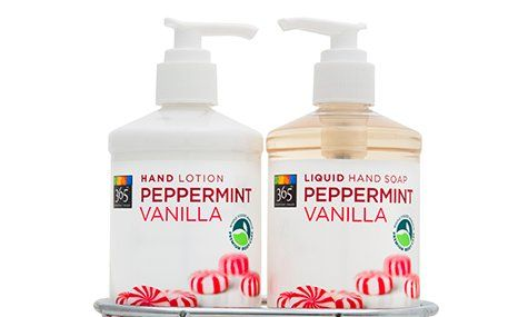 365 Everyday Value Peppermint Vanilla Hand Lotion And Liquid Hand