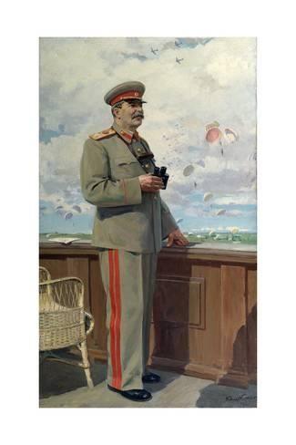 006 Stalin at Military Air Show, 1949By Konstantin Kitayka