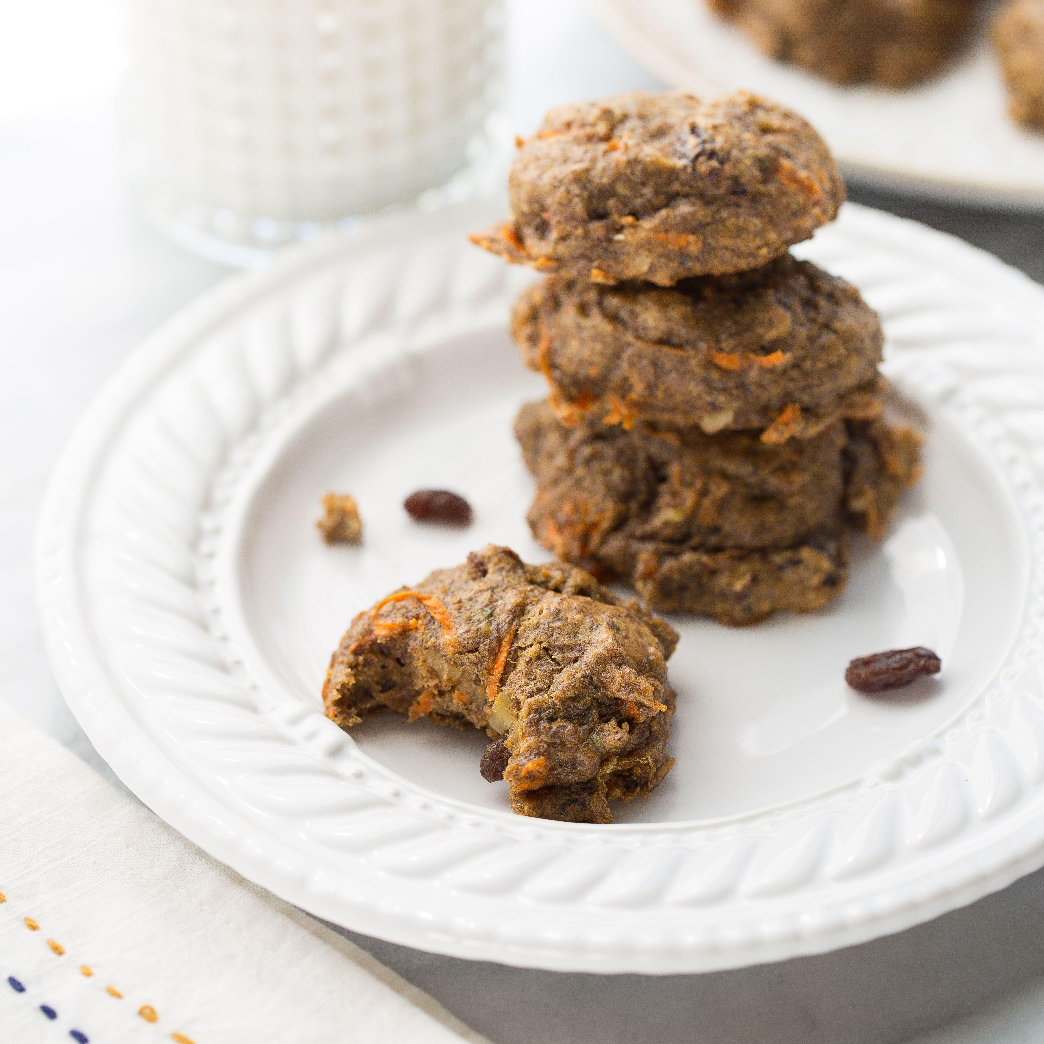 Carrot Cake Power Cookies Gluten Free Vegan Recipe Paleo Gluten Free Cookies Breakfast Cookies Healthy Cookies