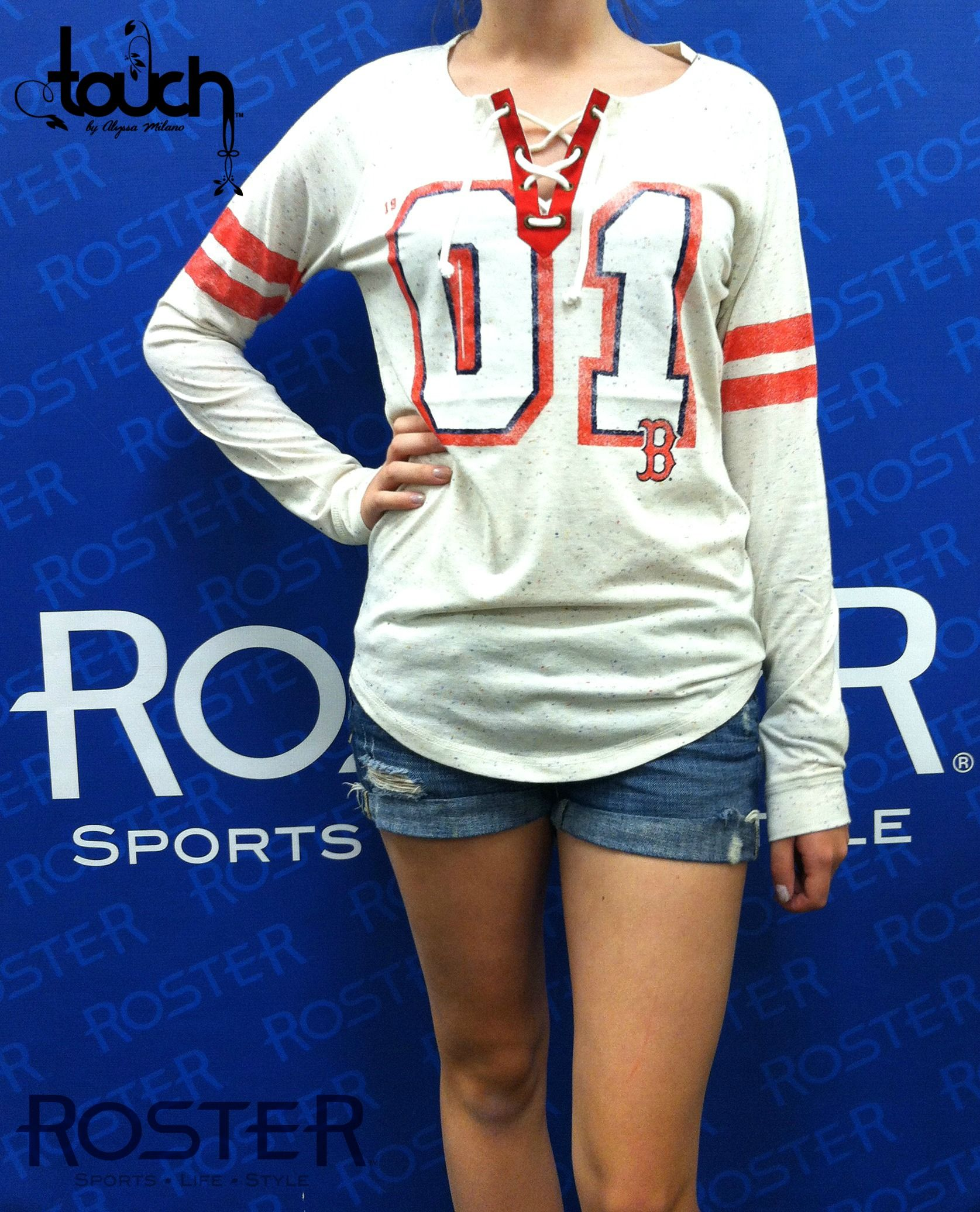Red Sox Kickoff Lace-Up Tee $55.00  Ask for item #540095