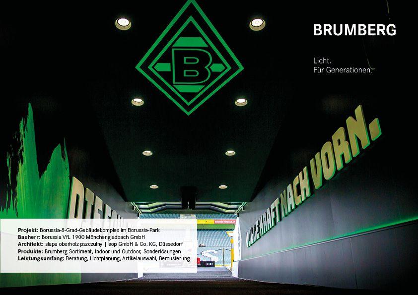 Borussia Monchen Gladbach Beleuchtungsprojekt Brumberg Lichtplanung Projekte Borussia