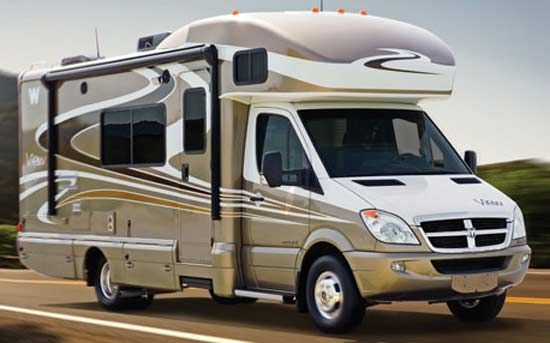 Winnebago view class c motorhome rv review roaming times for Mercedes benz view rv