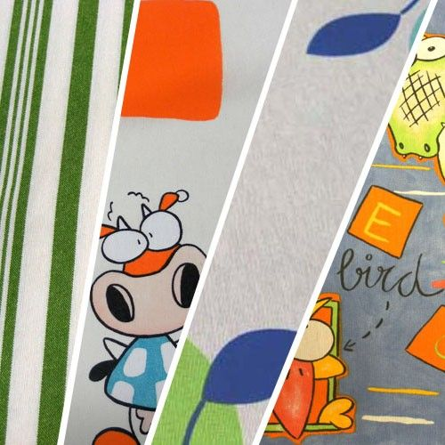 Loneta estampada de 280 cm // Patterned canvas 280 cm #tela #teixit #tejido #fabric #teixitsbaig #loneta #canvas